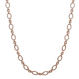 """Picture of Nickel-Free Rose Gold Madison Chain: 28-31"""""""
