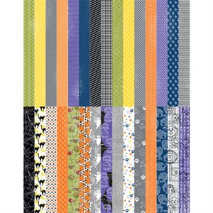 Picture of Pocket Frightful & Furry Border Strips by Lauren Hinds - Set 30