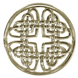 Picture of Medium Gold Celtic Knot Screen