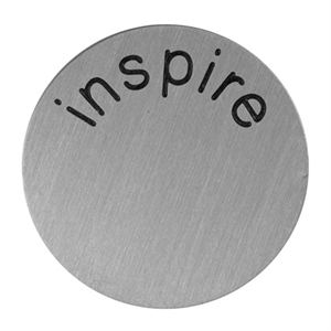 Picture of 'Inspire' Medium Silver Coin