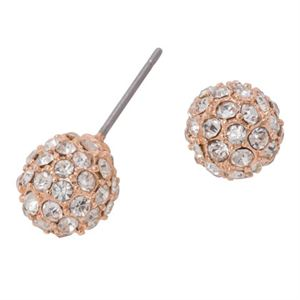 Picture of Rose Crystal Pave Studs