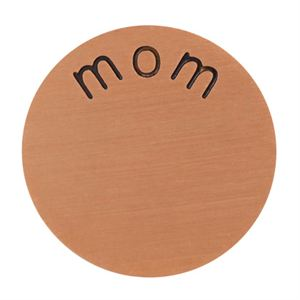 Picture of 'Mom' Mini Rose Gold Coin