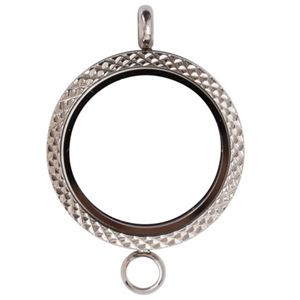 Picture of Textured Locket with T-Bar