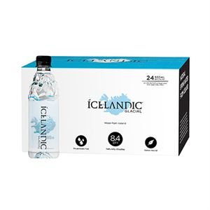 Picture of Icelandic Glacial 500mL Two cases of 24 bottles each